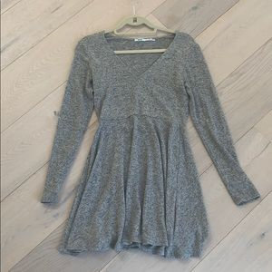 long sleeved urban outfitters sweater dress